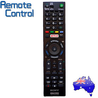 AU23.50 • Buy RMT-TX100A 100D Replacement Netflix TV Remote For Sony KD-55X9000C KD-65X9000C