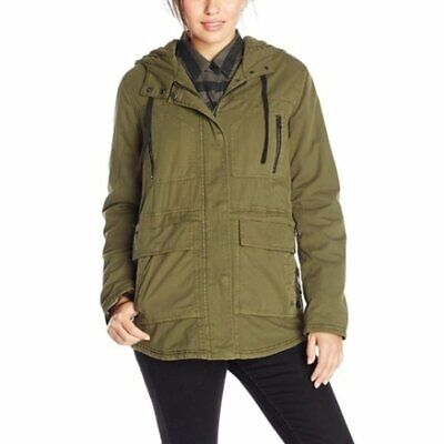 $20 • Buy Volcom Stand Up Jacket Military Inspired Style Lentil Green Women's Size S