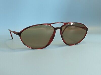 Vintage Rodenstock Lady Line 30.71 Red Acetate Sunglasses Frame Made In Germany  • 40£