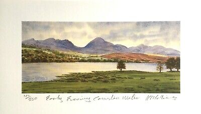 Coniston Water Lake District Limited Edition Prints PLUS Ingleborough Yorkshire • 12£