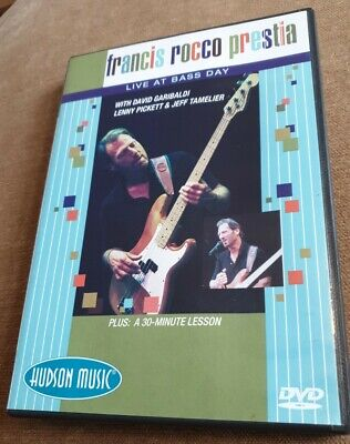£9.99 • Buy Francis Rocco Prestia - Live At Bass Day (DVD, 2010)