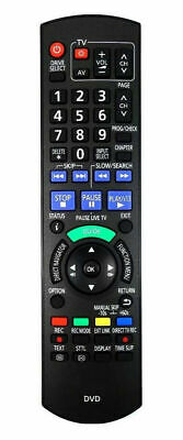Replacement Remote Control For Panasonic DVD RECORDER  • 7.99£