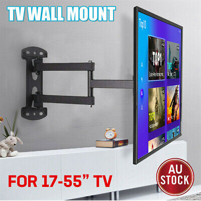 AU35.97 • Buy Corner Full Motion TV Wall Mount Articulating Bracket For 32 - 55  Sony Samsung