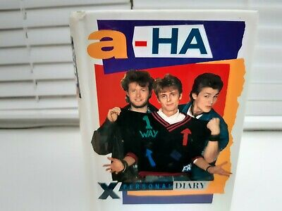 A-ha - PERSONAL DIARY -POCKET BOOK. UNUSED. • 9.99£