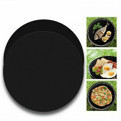 AU14.99 • Buy BBQ Grill Mat Reusable Bake Sheet Resistant Teflon Meat Barbecue Non-Stick 5 PCS