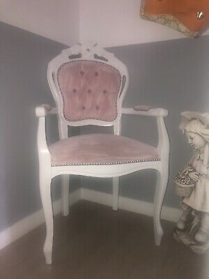 Shabby Chic French Louis Chair • 50£