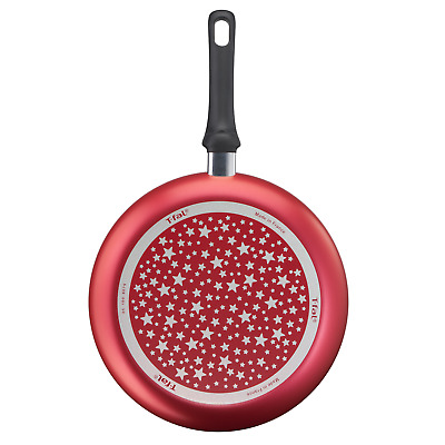 Tefal 30cm Star Collection Universal Frying Pan Non Stick Durable ThermoSpot Red • 17.03£