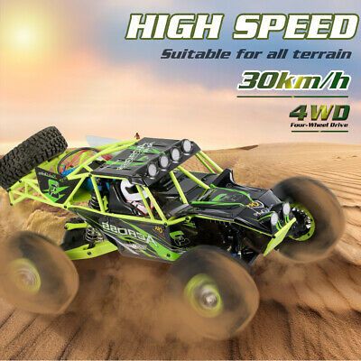 Wltoys 10428 2.4G 1/10 Scale 4WD 30km/h Electric RTR Off-Road RC Car Green L9M8 • 140.48£