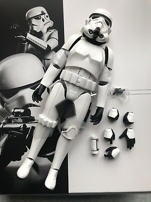 $209.90 • Buy Hot Toys Mms268 Star Wars IV A New Hope 1/6 Stormtrooper Figure 28 Cm Tall