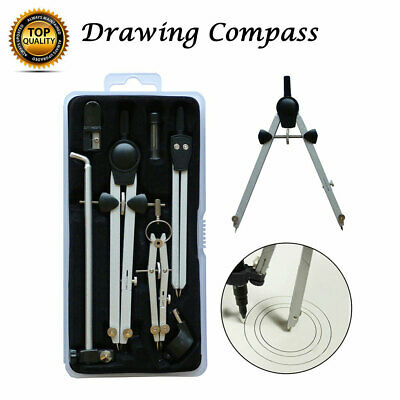 £11.99 • Buy Technical Precision Drawing Compass Set Extension Arm With Replacement Lead New