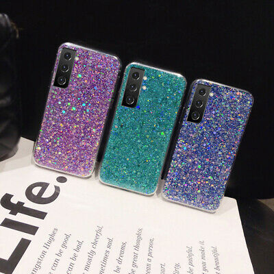 $ CDN5.15 • Buy Case For Samsung Galaxy S20 A51 A71 A70 Note10 S10 Glitter Marble Silicone Cover
