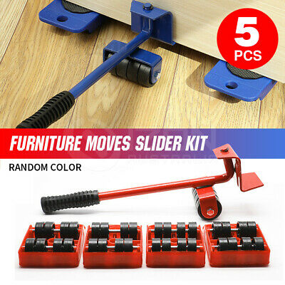 AU20.56 • Buy Furniture Lifter Heavy Roller Move Tool Set Moving Wheel Mover Sliders Kit AU