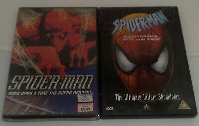 5 Marvel Animated / Cartoon DVD Bundle - Spider-Man • 7.49£
