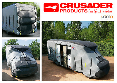 Deluxe 4 Ply Motorhome Cover 7.0m To 7.5m Weatherproof Breathable  • 149.99£