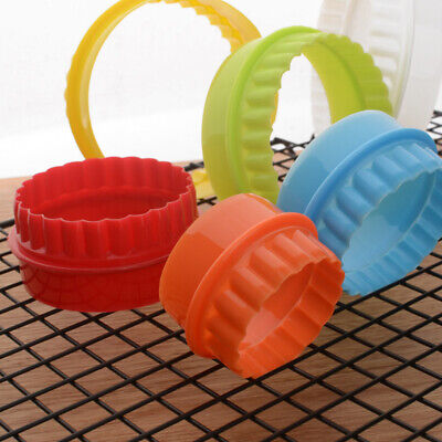 6pcs Round Cookie Cutters Biscuit Fondant Cutting Mold Baking Pastry Tools UK • 3.99£