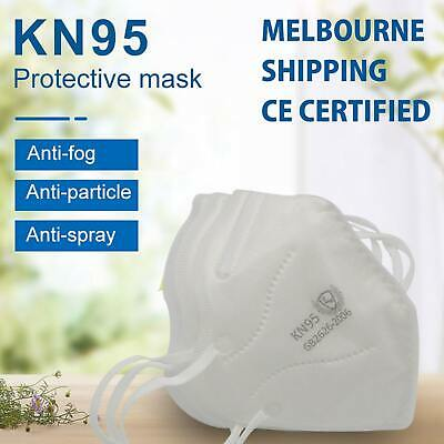 AU31.95 • Buy KN95 Face Mask P2 Particulate Filter Anti Dust N95 Protective Mouth Respirator