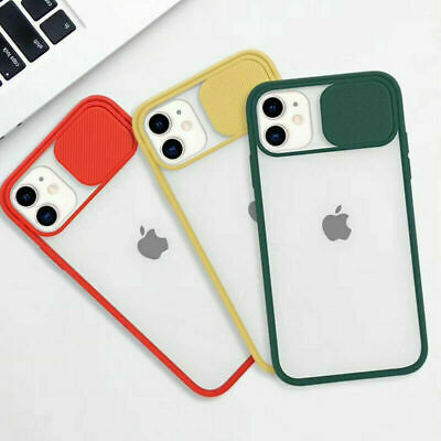 £3.99 • Buy Slide Camera Lens Protector Soft Shockproof Case Cover For IPhone 11 12 Pro Max