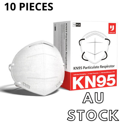 AU29.61 • Buy 10 X YUZHI Protective Face Mask N95 KN95 Particulate Respirator 5 Layers PM2.5