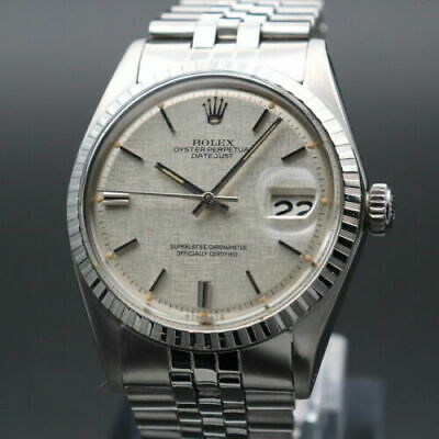 $ CDN6206.75 • Buy Rolex Oyster Perpetual Datejust Ref.1603 Vintage Overhaul Automatic Mens Watch