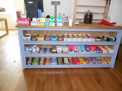 Shop Counter, With Front Display. Solid Pine. Can Be Made To Size  • 785£