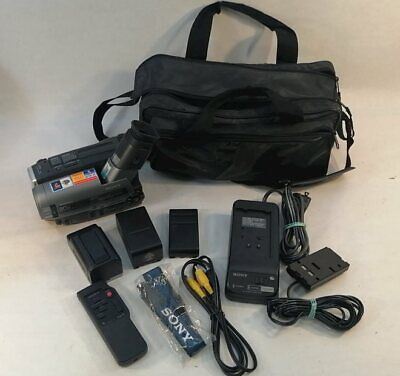 $ CDN96.66 • Buy Sony Handycam Video Camcorder W/ Carrying Case 8mm 30x (CCD-TR96)