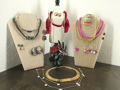 $ CDN26.35 • Buy Costume Jewelry Lot - Untested - Unsearched - As Is  Vintage To Now Multi Color