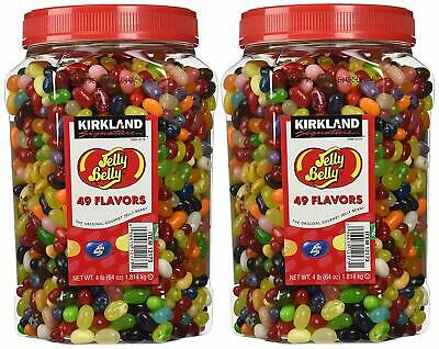 Bulk Jelly Beans Jelly Belly 49 Flavors Assorted Jars Party Candy 8 Lbs Pound • 68.67£