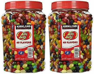 Nice! Bulk Jelly Beans Jelly Belly 49 Flavors Assorted Jars Party Candy 8 Lbs • 68.67£