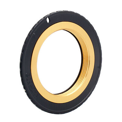 $5.60 • Buy M42-EOS Gold Adjustable Adapter For M42 Lens To Canon EF Mount Dslr Camera