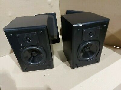 Jpw Radius 1 Bookshelf Speakers Vintage Rare Vgwo 6 Ohms 70 Watts • 49.99£