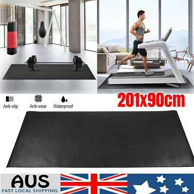 AU55.08 • Buy Treadmill Gym Floor Mat Fitness Exercise Bike Go Fit Pad Protect Equipment