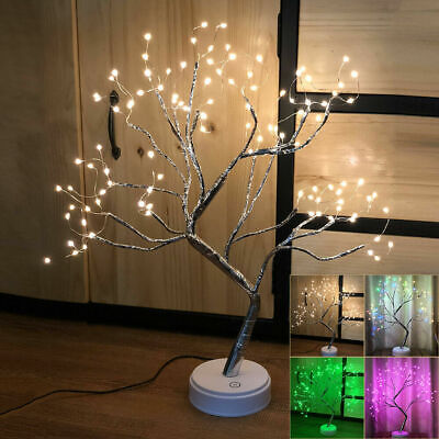 108 LED Christmas Birch Tree Light Up White Twig Tree Easter Home Decorations UK • 16.66£