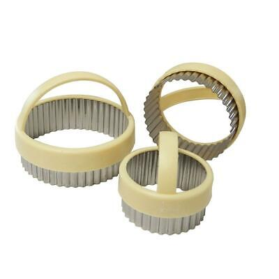 £8.49 • Buy Eddingtons Fluted Pastry/Cookie Cutter Set - 3 Piece