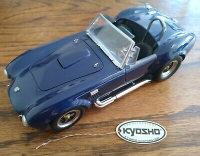 Kyosho Shelby Cobra 427S/C Dark Blue 1/18 Scale Diecast Model Unboxed  • 50£