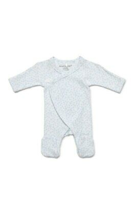 AU32.95 • Buy NEW Marquise Preemie Footed Growsuit Blue From Baby Barn Discounts