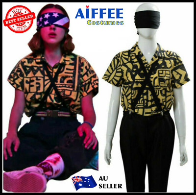 AU30.88 • Buy Stranger Things 3 Eleven Cosplay Costume Halloween Fancy Dress Outfit Suspenders