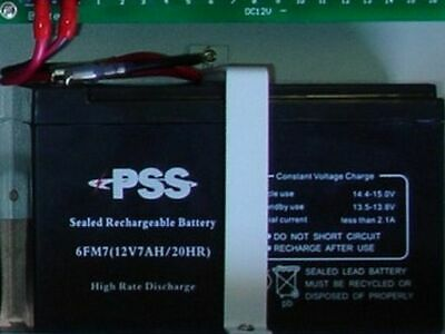 AU16.99 • Buy Security System Battery Bracket Wall Mount Batteries & Expansion Boards + Leads