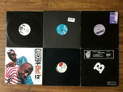Record Collection # 1 Of 62 Hip Hop 12  Vinyl Singles/promos 1980s-2000's • 75£