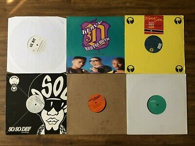 Record Collection # 2 Of 62 Hip Hop 12  Vinyl Singles/promos 1980s-2000's • 75£