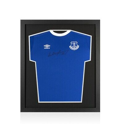 £164.99 • Buy Framed Wayne Rooney Signed Everton Shirt 2016-17 - Compact Autograph Jersey