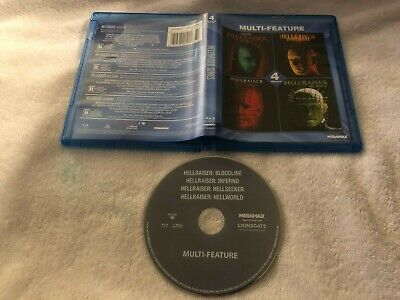 Hellraiser Collection: 4 Film Set Bluray Oop Horror • 21.27£