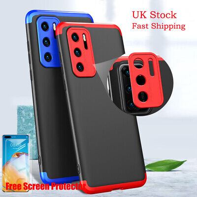 360° Protection Cover Shockproof Hard Case For Huawei Mate 20 Lite P30 P40 Pro • 5.70£
