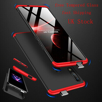 360° Shockproof Case Hard Armor Cover For Huawei Y6 Y7 2018 Y9 Prime 2019 +Glass • 4.96£