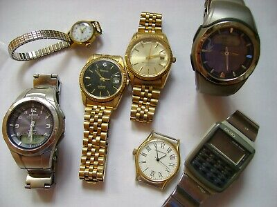 $ CDN50 • Buy Watches Lot For Parts Or Restore As Is