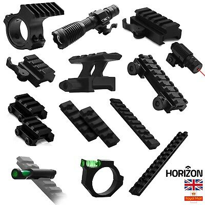 £5.75 • Buy Tactical Rifle Hunting Scope Mount Adapter 20mm Weaver Picatinny Rail Airsoft UK