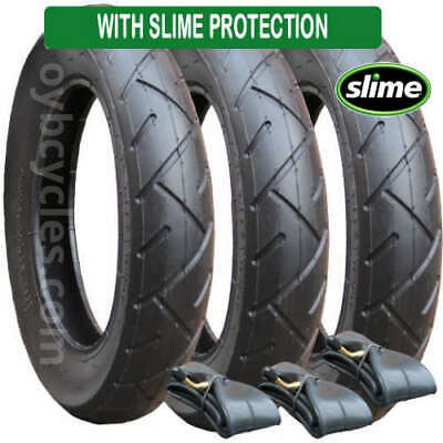 £45.95 • Buy Set Of Tyres & Tubes For Quinny Freestyle Pushchairs Slime Protected