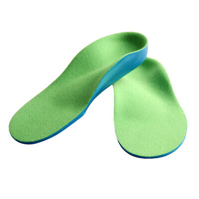 Children Kids Flat Feet Orthotic Shoes Insoles Arch Support Inserts Cushions • 6.18£