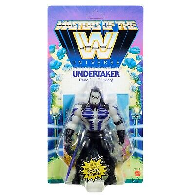 $40 • Buy New Masters Of The WWE Universe Undertaker Action Figure Wrestling Dead Man