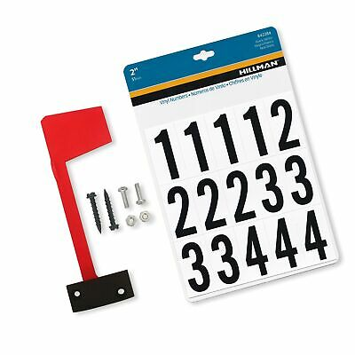 $21.99 • Buy Mailbox Flag Complete Replacement Kit - Includes Flag, Screws And Number Stic...
