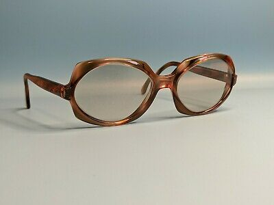 Vintage Rodenstock Exclusiv Brown Polygone Acetate Sunglasses Made In Germany  • 40£